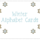 Winter Alphabet Cards / CVC / Word Building Center