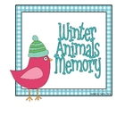 Winter Animals Memory Game