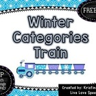 Winter Categories Train {FREEBIE}