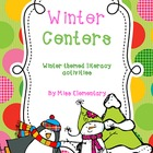 Winter Centers - Winter Themed Literacy Activities