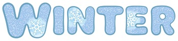 Winter Clip Art Collection (for personal or commercial use)