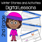 Winter Common Core Literacy - Original Stories and Activit