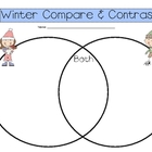 Winter Compare and Contrast Venn Diagram