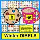 Winter Literacy Centers - DIBELS Cookies And Cocoa Onset R