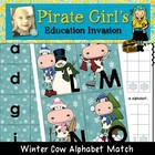 Winter Cow Alphabet Game