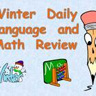 Winter Daily Language and Math Review PowerPoint- Third Grade