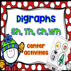 dollarsunday Winter Digraphs ~ sh, th, ch, wh