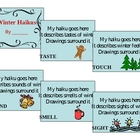 Winter Five Senses Haiku Book Project