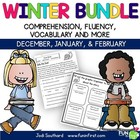 Winter Fluency Packet {December, January, & February}