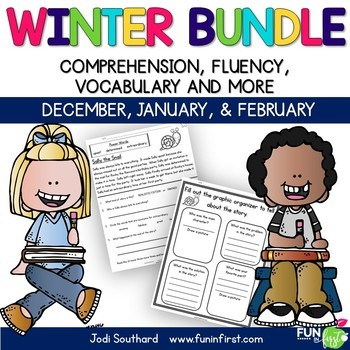 Winter Fluency Packet