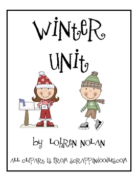 Winter Fun Math and Literacy Unit