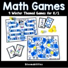Winter Fun Themed Math Games