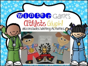 Winter Games Glyph and Writing Activities-Common Core Aligned!!