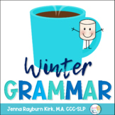 Winter Grammar: Speech Therapy Activities