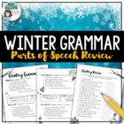 Winter Grammar Worksheets - Great practice and review!