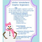 Winter Graphic Organizers: Story Charts, Cause/Effect, Ven