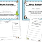 Winter Graphing - Analyzing Data/Creating Bar Graphs (CCSS