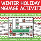 Winter Holiday Language Activities