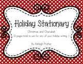 Winter Holiday Stationary
