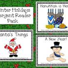 Winter Holidays Emergent Reader Pack