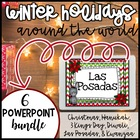 Winter Holidays Powerpoints Christmas Kwanzaa Hanukkah Diw