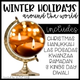 Winter Holidays Powerpoints and Scrapbook Bundle! Common C