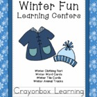 Winter Learning Centers, Winter Animal Tracks, Winter Clot