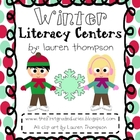 Winter Literacy Centers {1st &amp; 2nd}