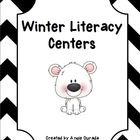 Winter Literacy Centers {Polar Bear Theme}
