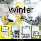 Winter Literacy Game Pack by Kim Adsit