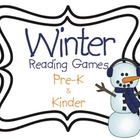 Winter Literacy Games Pre K-K