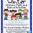 Winter Literacy, Math &amp; Science Activities