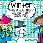 Winter Math and Literacy Centers are Snow Fun!