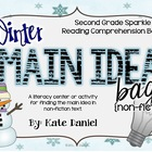 Winter Main Idea Bags: Non-Fiction {Lesson/Literacy Center