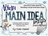 Winter Main Idea Bags: Non-Fiction (Lesson/Literacy Center)