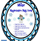 Winter Manipulative Math Sorts  (Common Core Alligned)