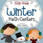 Winter Math Centers {10 Centers}