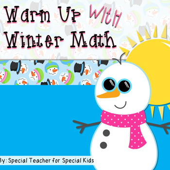 Winter Math Fun {Freebie}