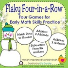 Winter Math Games: Flaky Four-in-a-Row