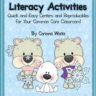 Winter Math & Literacy Activities: Quick and Easy Reproduc
