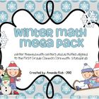 Winter Math Mega Pack (Winter Themed Math Centers for Firs