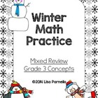 Winter Math Review Grade 3