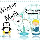 Winter Math Tasks for 2nd Grade Common Core