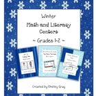 Winter Math and Literacy Centers {Grades 1-2}