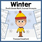 Winter Mathbooking - Math Journal Prompts (4th grade) - Co