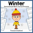 Winter Mathbooking - Math Journal Prompts Common Core (2nd grade)