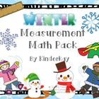 Winter Measurement Math Pack