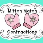 Winter Mitten Match Contractions Center