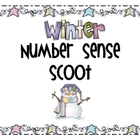 Winter Number Sense and addition Scoot