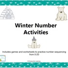 Winter Number Sequencing Activities
